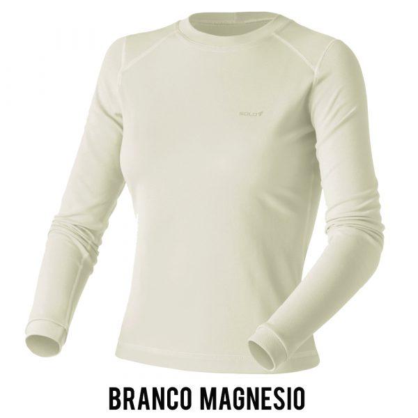 Blusa Solo X-Thermo DS T-Shirt Feminina - Branco Magnésio
