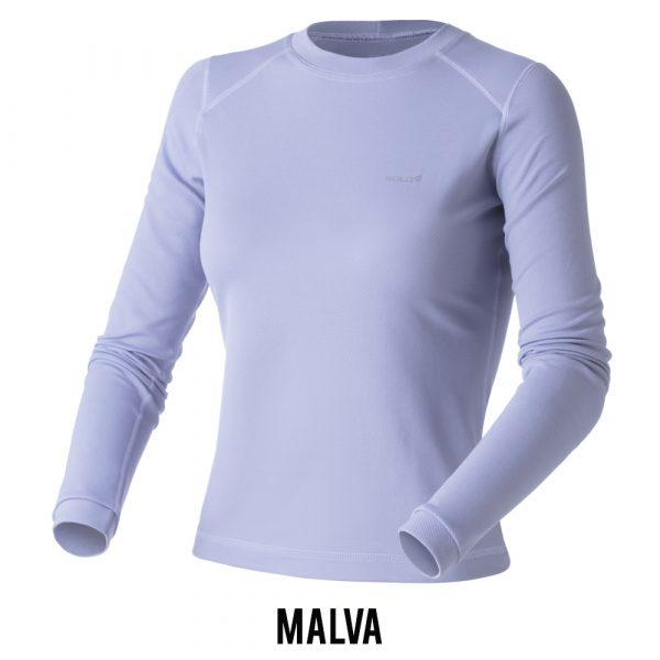 Blusa Solo X-Thermo DS T-Shirt Feminina - Malva