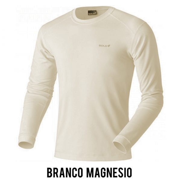 Blusa Solo X-Thermo DS T-Shirt Masculina - Branco Magnésio