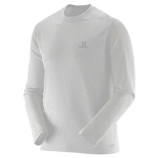 Camiseta Salomon Sonic UV Masculina - Branca