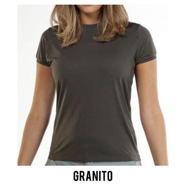 Camiseta Solo Ion Lite Feminina - Granito - MC