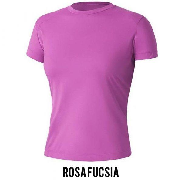 Camiseta Solo Ion Lite Feminina - Rosa Fucsia - MC