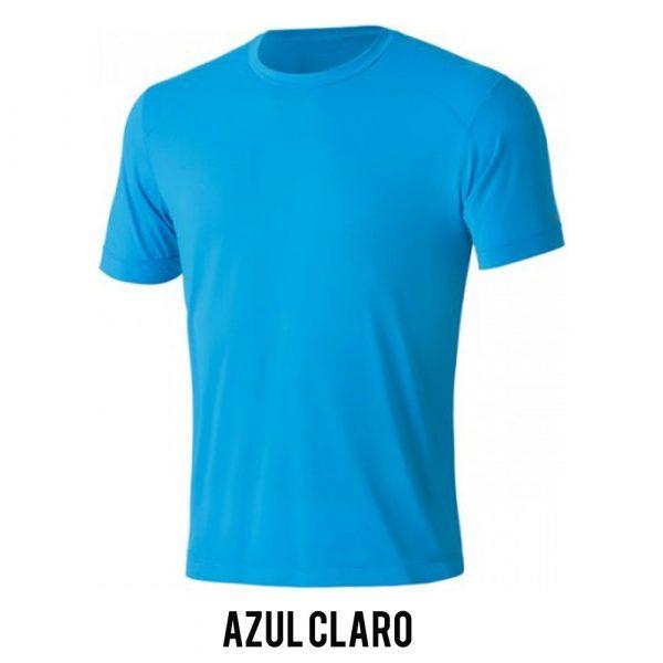 Camiseta Solo Ion Lite Masculina - Azul Claro - MC