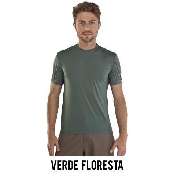 Camiseta Solo Ion Lite Masculina - Verde Floresta - MC