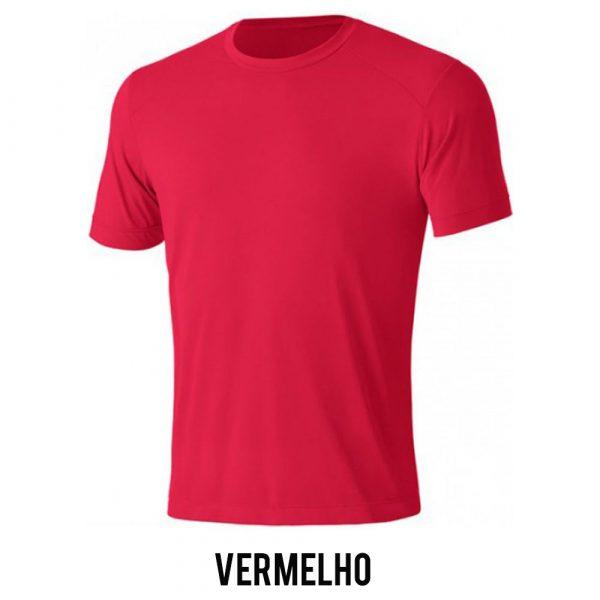 Camiseta Solo Ion Lite Masculina - Vermelho - MC