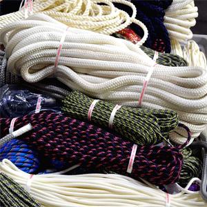 Cordas, cordeletes e fitas