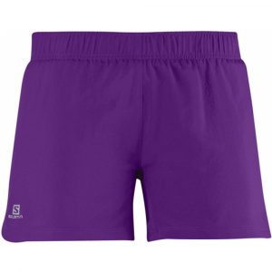 Short Salomon Start Feminino - Roxo